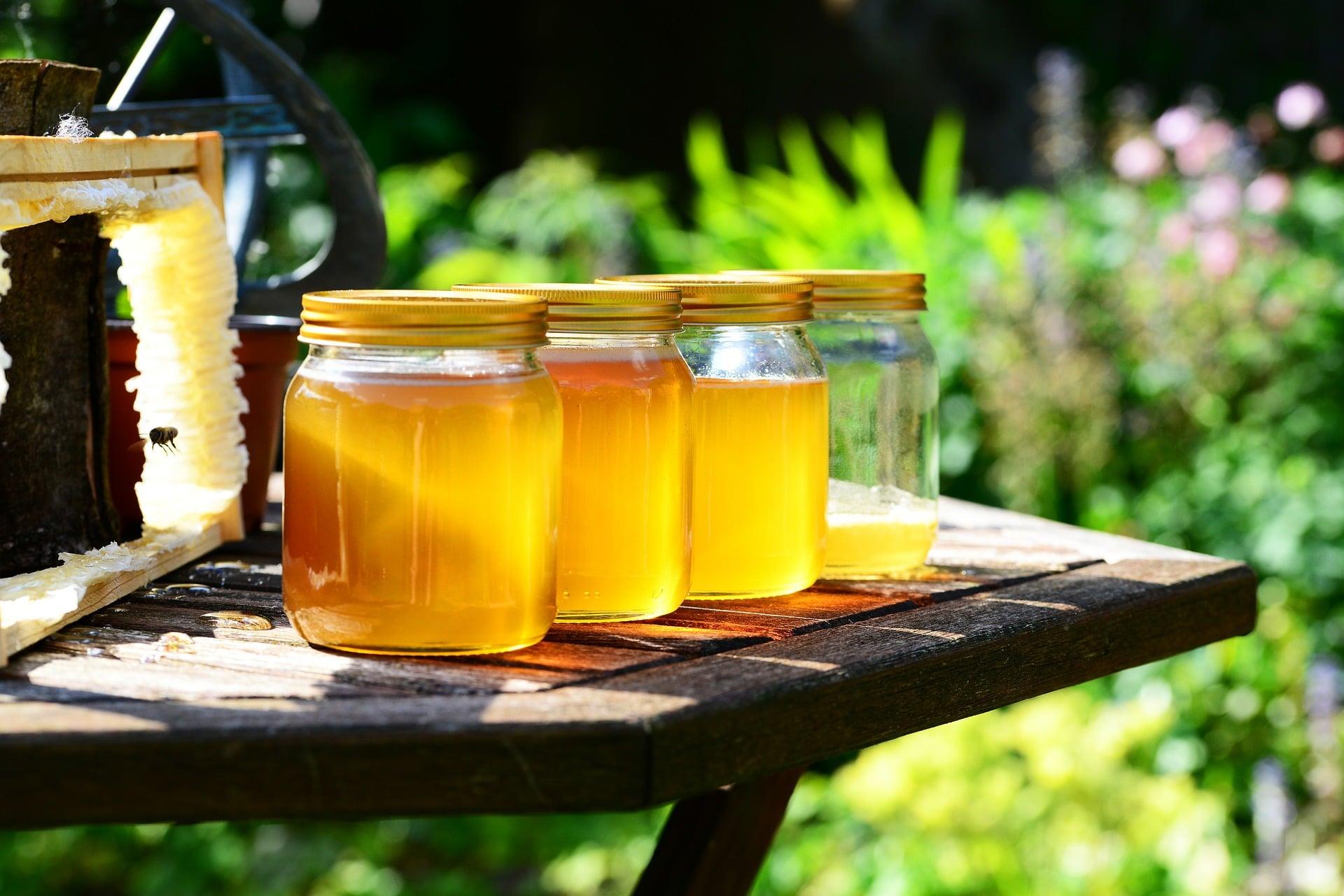 miel recién recolectada