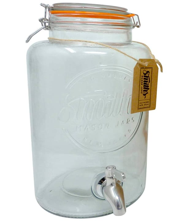 dispensador de bebidas jarra vintage